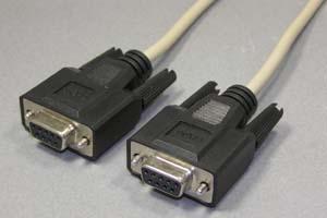 RS-232Cクロスケーブル 9pinメス-9pinメス インタリンク用クロス結線