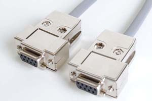 長尺RS-232Cケーブル 9pinメス-9pinメス ストレート結線(最長150メートル)