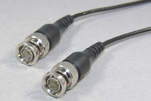 75オーム同軸ケーブル BNCオス-BNCオス (極細電線タイプ)