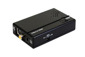 ビデオスケーラー(コンポジット映像/S端子映像+アナログ音声⇒HDMI・DVI-Dシングルリンク信号 アップスキャンコンバータ(映像信号変換器))