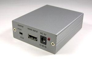 フォーマットコンバータ (HDMI信号 ⇒ アナログRGB(VGA)信号+ステレオ音声 変換器) 【在庫限り販売中止】