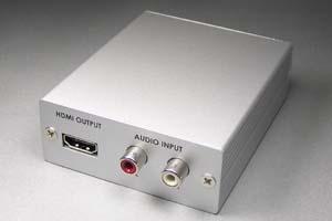 フォーマットコンバータ (アナログRGB(VGA)信号 ⇒ HDMI信号 変換器) 【在庫限り販売中止】