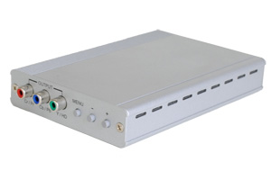 ビデオスケーラー(DVI-Iシングルリンク信号⇒コンポーネント映像信号 ダウンスキャンコンバータ(映像信号変換器))