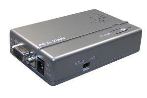 ビデオスケーラ (アナログRGB(VGA)信号⇒S端子 or コンポジットビデオ信号 ダウンスキャンコンバーター(映像信号変換器))