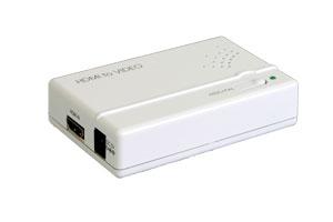 ビデオスケーラ(HDMI1.2信号 ⇒ コンポジットビデオ&アナログ音声信号用 ダウンスキャンコンバーター(映像信号変換器))