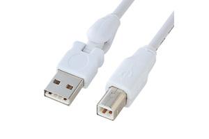 【サンワサプライ】 3D型 USB2.0ケーブル、Aオス-Bオス 【在庫限り販売中止】