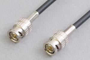 固定配線用 3G/HD-SDIケーブル (BNCオス-BNCオス、3Cタイプおよび5Cタイプケーブル)
