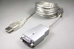 USB-RS232C(シリアル)変換ケーブル(D-subタイプ、USB1.1、ケーブル長さ1.8m)