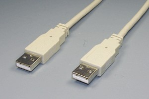 USB1.1ケーブル Aコネクタ オス-Aコネクタ オス