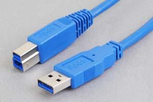USB3.0ケーブル Aコネクタ オス-Bコネクタ オス