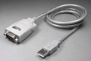 USB-RS422(シリアル)変換ケーブル(D-subタイプ、USB1.1、ケーブル長さ1m)