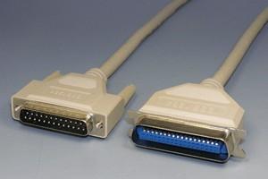 プリンターケーブル IEEE1284規格 DB25オス-セントロ36オス