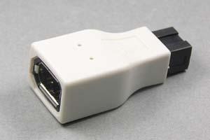 IEEE1394変換アダプタ 9ピン(オス)-6ピン(メス) 【在庫限りで販売中止】