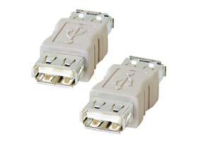 【サンワサプライ】 USB変換アダプタ Aメス-Aメス  【在庫限り販売中止】