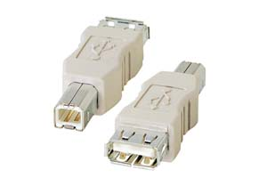 【サンワサプライ】 USB変換アダプタ Aメス-Bオス