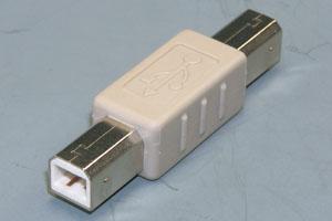 USB変換アダプタ Bオス-Bオス 【在庫限り販売中止】