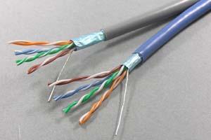 カテゴリ 5E  STP(シールド:FTP) より線 バルクケーブル
