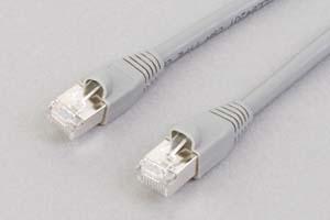 カテゴリ 6 LANケーブル STP(FTP) ストレート結線(シールド、より線、グレー)