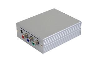 フォーマットコンバーター (コンポーネント/D端子映像+アナログ/デジタル音声信号 ⇒ HDMI信号 変換器)