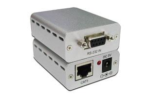 RS-232C信号エクステンダー:最大250m延長(シリアル信号延長器:UTPケーブル延長型)
