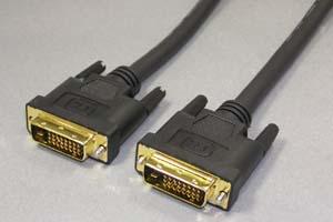 ディスプレイケーブル<DVI-D デュアルリンク ケーブル> DVI-Dオス(24+1pin)-DVI-Dオス(24+1pin)