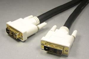 ディスプレイケーブル<DVI-D シングルリンク 長尺タイプ> DVI-Dオス(18+1pin)-DVI-Dオス(18+1pin)