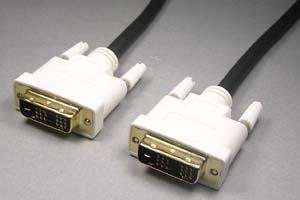 ディスプレイケーブル<DVI-D シングルリンク ケーブル> DVI-Dオス(18+1pin)-DVI-Dオス(18+1pin)
