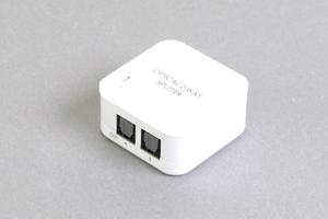 光角形デジタル音声信号 2分岐スプリッター