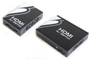 HDMI 信号セレクター(HDMI Ver1.3対応切替器:2入力/4入力 1出力)