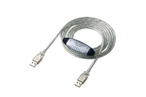 【サンワサプライ】 USB2.0データリンクケーブル、両側Aコネクタオス、長さ2m