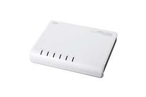 【サンワサプライ】 100BASE-TX対応スイッチングHUB、5ポート、樹脂ケースタイプ  【在庫限り販売中止】