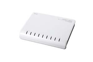 【サンワサプライ】 100BASE-TX対応スイッチングHUB、8ポート、樹脂ケースタイプ  【在庫限り販売中止】