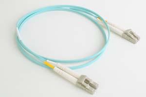 10ギガ光ファイバーケーブル(LC-LC、OM3準拠マルチモード、Duplexタイプ)
