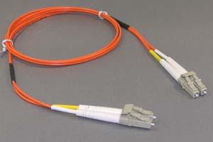 光ファイバーケーブル マルチモード 50ミクロン(LC-LC、Duplexタイプ)