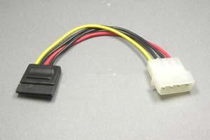 SATA電源ケーブル 1:1タイプ