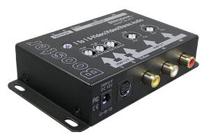 S端子&コンポジットビデオ信号+オーディオ信号 エクステンダー:最大300m延長(映像信号延長器:1入力1出力タイプ/ブースト型) 【在庫限り販売中止】