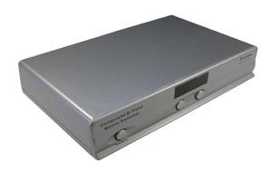 コンポジット&S端子ビデオ信号+オーディオ信号用 AVセレクター(映像信号切替器:マトリックス切替4入力2出力)