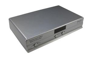 コンポーネントビデオ信号+オーディオ信号用 AVセレクター(映像信号切替器:マトリックス切替4入力2出力)