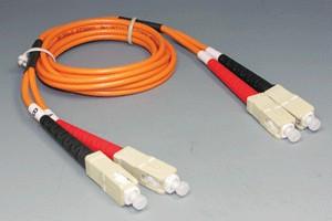 光ファイバーケーブル マルチモード 50ミクロン(SC-SC、Duplexタイプ)