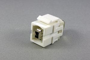 スナップイン中継コネクタ IEEE1394 4ピン メス  【在庫限り販売中止】