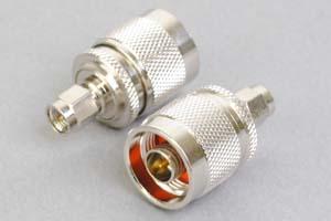 同軸コネクタ用変換アダプタ  SMAオス-N型オス(インピーダンス50Ω)