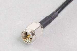 50オーム同軸ケーブル SMA片側オス (MIL規格RG-174電線タイプ、JIS規格1.5D-2V相当)