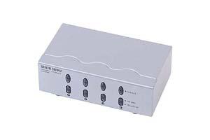 【サンワサプライ】 VGA信号セレクター、VGA用、4入力1出力 【在庫限り販売中止】