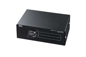 【サンワサプライ】 VGA信号手動セレクター、2入力1出力または1入力2出力