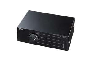 【サンワサプライ】 VGA信号手動セレクター、3入力1出力または1入力3出力