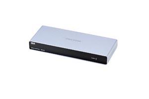 【サンワサプライ】 アナログRGB 信号スプリッター (高解像度4分配、映像信号安定化処理機能付き): 最大65m延長 (ディスプレイ分配・延長装置)