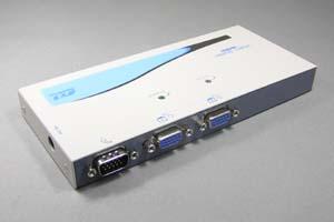 アナログRGB 信号スプリッター (VGA信号 2分配、4分配、8分配) : 最大65m延長  (ディスプレイ分配・延長装置)