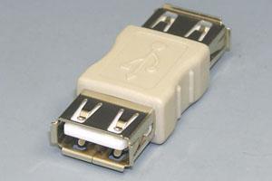 USB変換アダプタ Aメス-Aメス 【在庫限りで後継品へ切替予定】