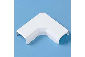【サンワサプライ】 CA-KK26角型モール用Lアングル型接続部品、白色