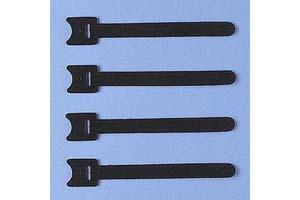 【サンワサプライ】 ケーブルタイ(マジックテープ型、長さ120mm、黒色、4本入り)